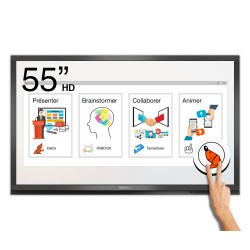 Ecran interactif tactile Android Windows SpeechiTouch Pro HD - 55