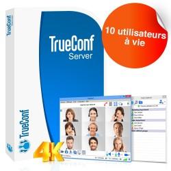 Logiciel de visioconférence TrueConf Server - 10 utilisateurs - à vie